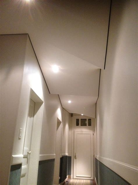 plafond de la retraite un plafond tendu extenzo pour r 233 nover d 233 corer votre couloir sur toulouse 31 montauban 82