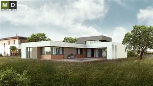 Luxury Low Energy Bungalow With A Flat Roof Osnice Master