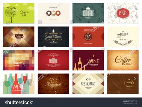 Business Card Big Set 16 Bright Stock Vector 599077316 Business Card Icon Ai For Design Accounting Images Leather Portfolio With Holder Crocodile Container Store Dj Inspiration Phone Free Vector