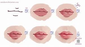 lips tutorial by mirukawa on DeviantArt