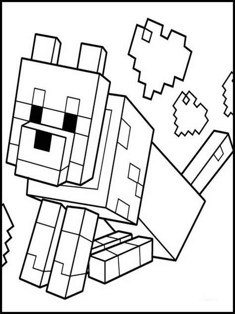 sta e colora minecraft immagini da colorare minecraft 12