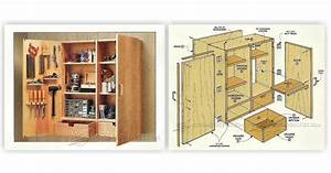 Wall Tool Cabinet Plans • WoodArchivist