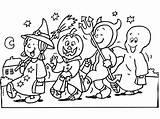 Halloween Coloring sketch template