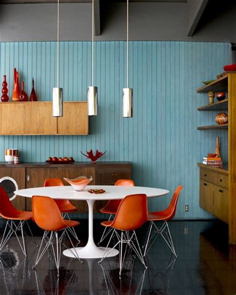 mid century modern dining room light fixture 25 best ideas about orange chairs on