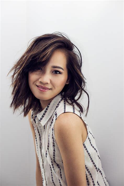 Asian Hair Lob   hairstylegalleries.com