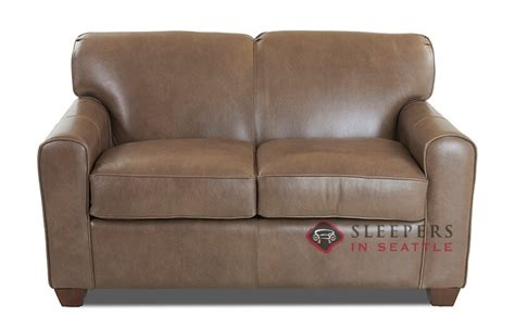 leather twin sleeper sofa customize and personalize zurich twin leather sofa by