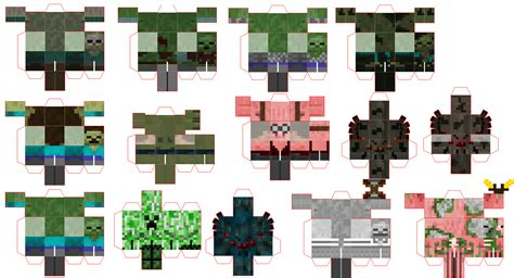 Papercraft Minecraft People