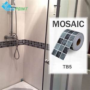 classical mosaic stickers vinyl waterproof waistline self With self adhesive wall tiles for bathroom