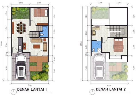 rumah minimalis cat abu abu terbaru denah rumah ukuran