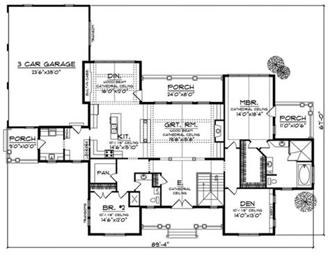 craftsman house plans with basement house plans craftsman and vaulted ceilings on
