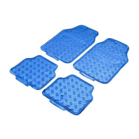 tapis auto tuning taille universelle pvc aspect m 233 tal majorque bleu