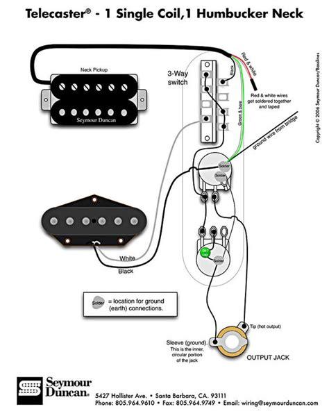 telecaster wiring diagram humbucker single coil learn guitar guitar diy guitar