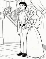 Coloring Princess Pdf sketch template