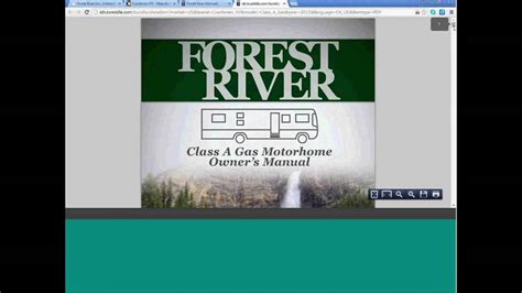 forest river interactive  owners manual demo youtube