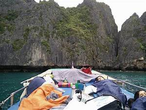 maya bay at low tide!! - Picture of Sunset Cruise and ...