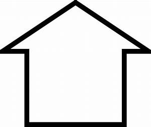 OUTLINE HOUSE - ClipArt Best