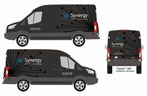 vehicle custom graphic design signs of seattle With van lettering design