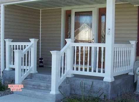17 best ideas about front porch railings on
