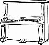 Piano Coloring Pages Printable sketch template