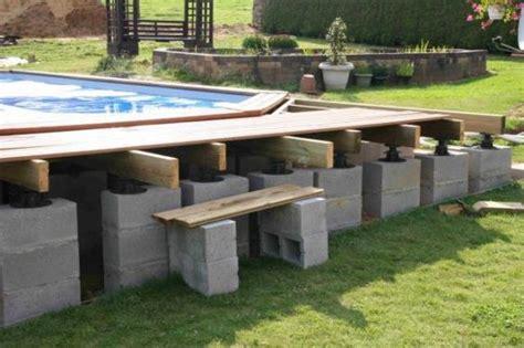 kit piscine bois semi enterree piscine hors sol bois semi enterr recherche projets 224 essayer piscine