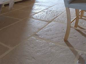 carrelage pierre reconstituee interieur sedgucom With carrelage interieur pierre