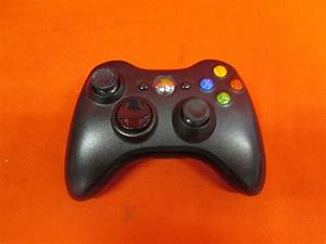 Wireless Controller Black For Xbox 360