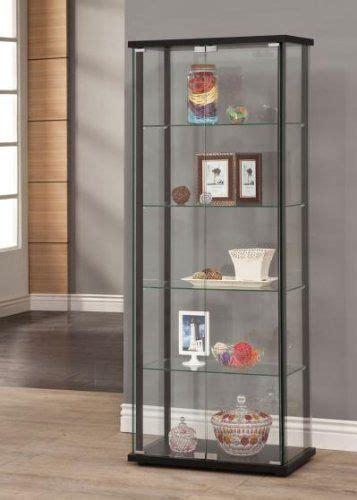 coaster home furnishings 950170 curio cabinet black coaster home furnishings 250 03 home