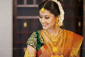 South Indian Wedding Hairstyles Front Hair