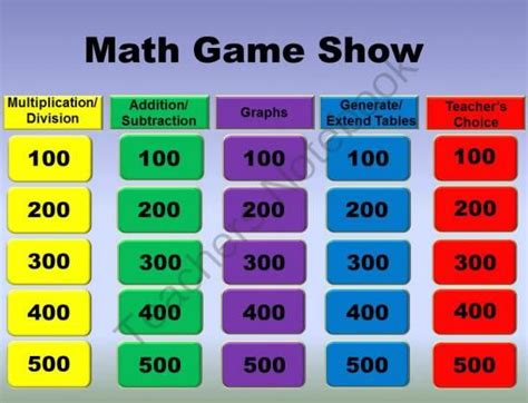 Pay Teachers Teaching And The O 39 Jays On Math Review Show 3rd Grade From Loveteachingkids On