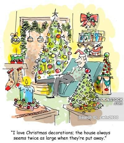 christmas decorations cartoons and comics funny pictures from cartoonstock