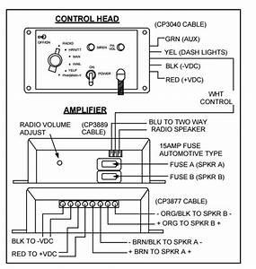 Carson Siren Power Harness 9 Pin Sa