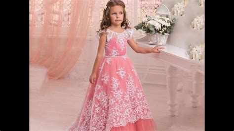 beautiful  collection  baby girl gown dresses kids