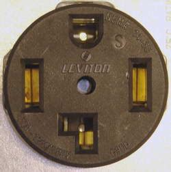 Electrical Can Dryer Receptacle Wired Without