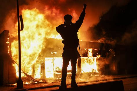 angry protests  violent riots  gripping america