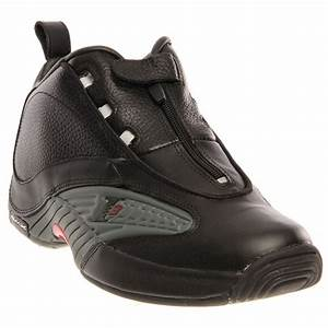 Reebok ANSWER IV Black Athletic Shoes and free shipping on ...