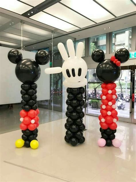 Mickey And Minnie Balloon Decorations - 15 best mickey mouse minnie mouse balloon ideas images on
