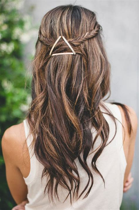 Easy Bobby Pin Hairstyle the Fashion Spot