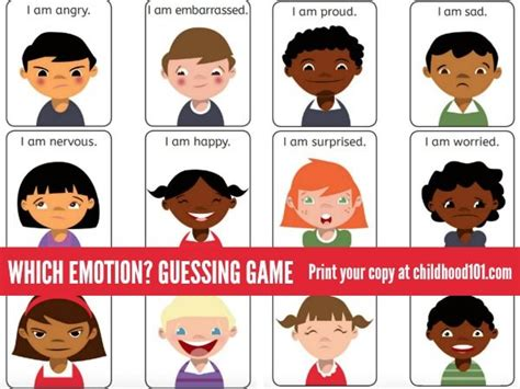 which emotion am i exploring emotions guessing k 2 emotions activities emotions