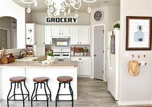 farmhouse style kitchen makeover 835