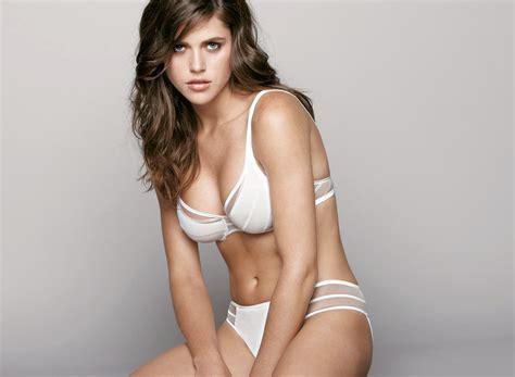 zoe duchesne  sexy white lingerie wallpapers popopicscom