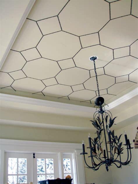 diy project bronze nail ceiling design designsponge