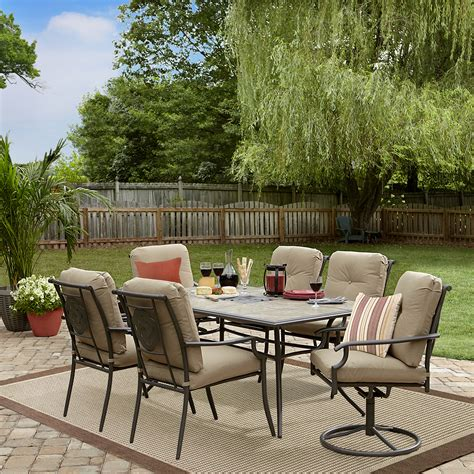 Garden Oasis Brookston 7 Pc Ceramictop Dining Set. Pvc Pool And Patio Furniture. Clearance Patio Bistro Sets. Woodard Patio Furniture Replacement Feet. Raised Stone Patio Designs. Building Patio Steps Outside. Back Patio Curtains. Cheap Patio Furniture In Tampa. Outdoor Patio Furniture Lewisville