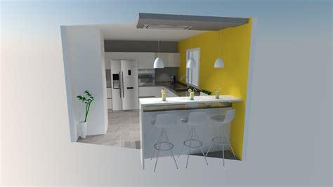 cuisine u cuisine avec bar la cuisine ouverte avec bar cuisine amnage avec bar idee de cuisine moderne