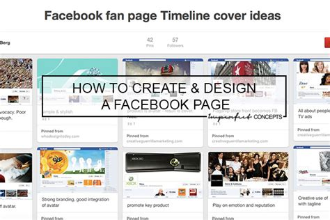 create a fan page on facebook without a profile how to create design a facebook fan page imperfect