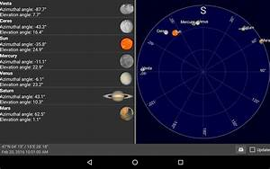 Sun, moon and planets - Android Apps on Google Play