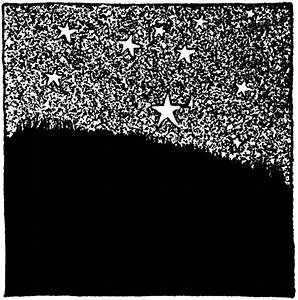 Stars in the Night Sky | ClipArt ETC