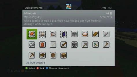 g xbox 360 achievements minecraft xbox 360 edition achievement guide all achievements 2012