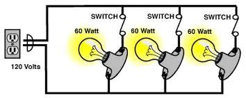 What Would Parallel Circuit With Light Bulbs Look Like