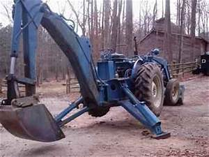 Used Farm Tractors For Sale  Ford 3400 W  Backhoe And Loader  2004-03-07