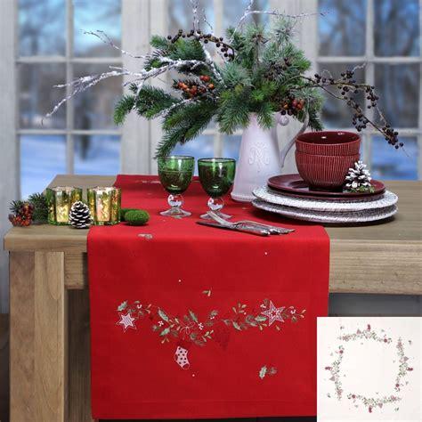 sander tischwäsche weihnachten tischl 228 ufer weihnachten sander tischw 228 sche de beautiful tables şahane sofralar